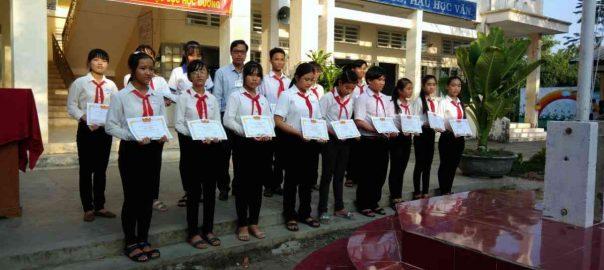 Phát thưởng HS G-K HKI